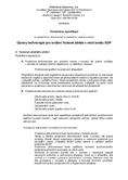 Náhled k PDF Příloha č.1 – Technická specifikace díla