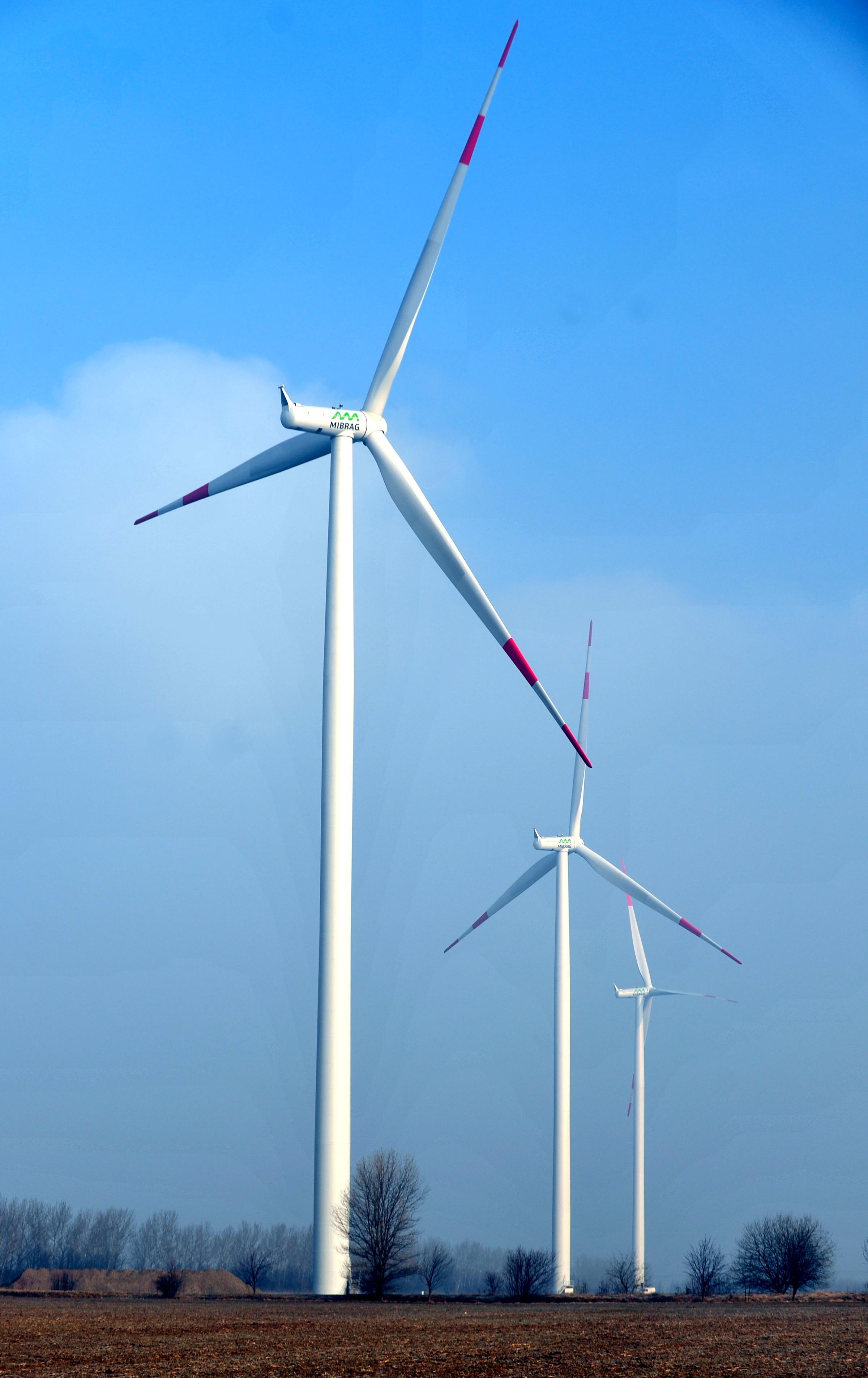 Wind power plants EP ENERGY a s