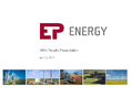 Náhled k PDF EPEnergy, a.s. investor call _2012 results presentation