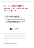 Náhled k PDF EP Energy – Report 3Q 2015